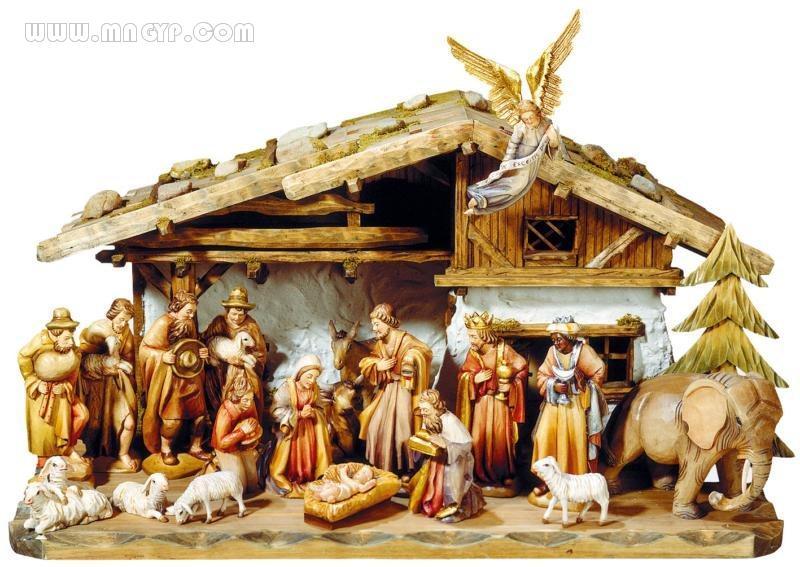圣诞在马槽歌谱