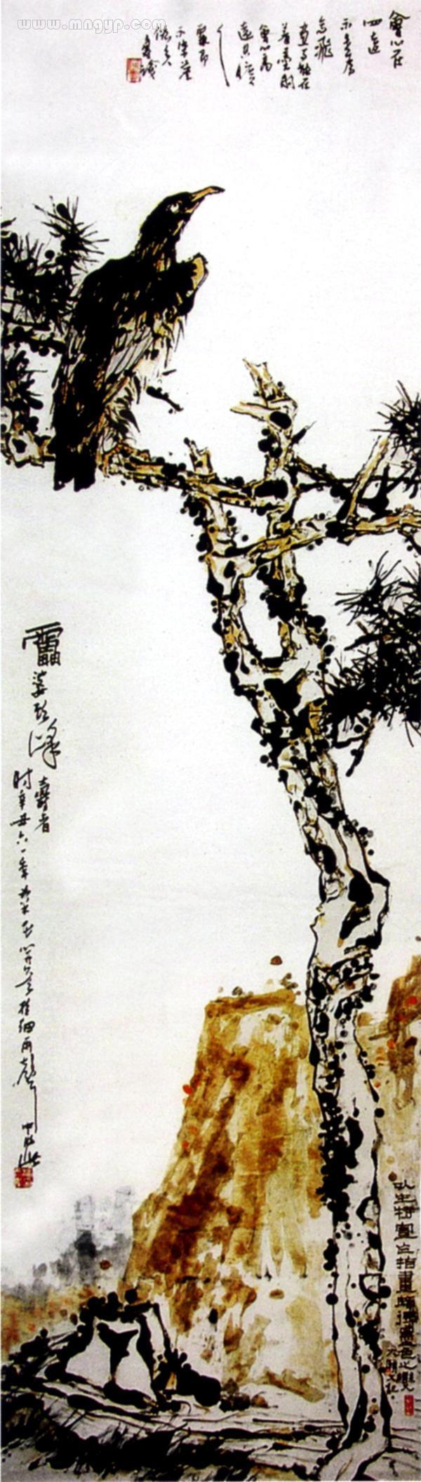 潘天寿作品_162957_图片_工艺品设计
