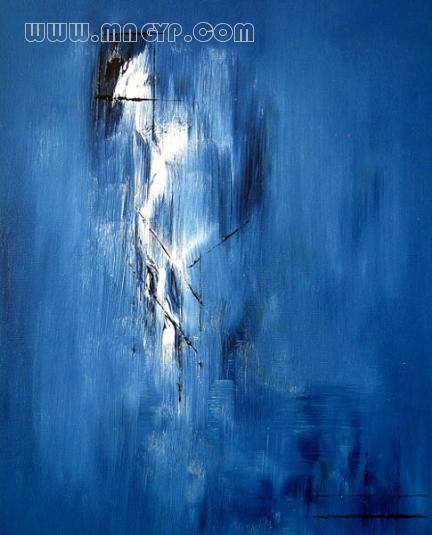 蓝色系动漫风景壁纸