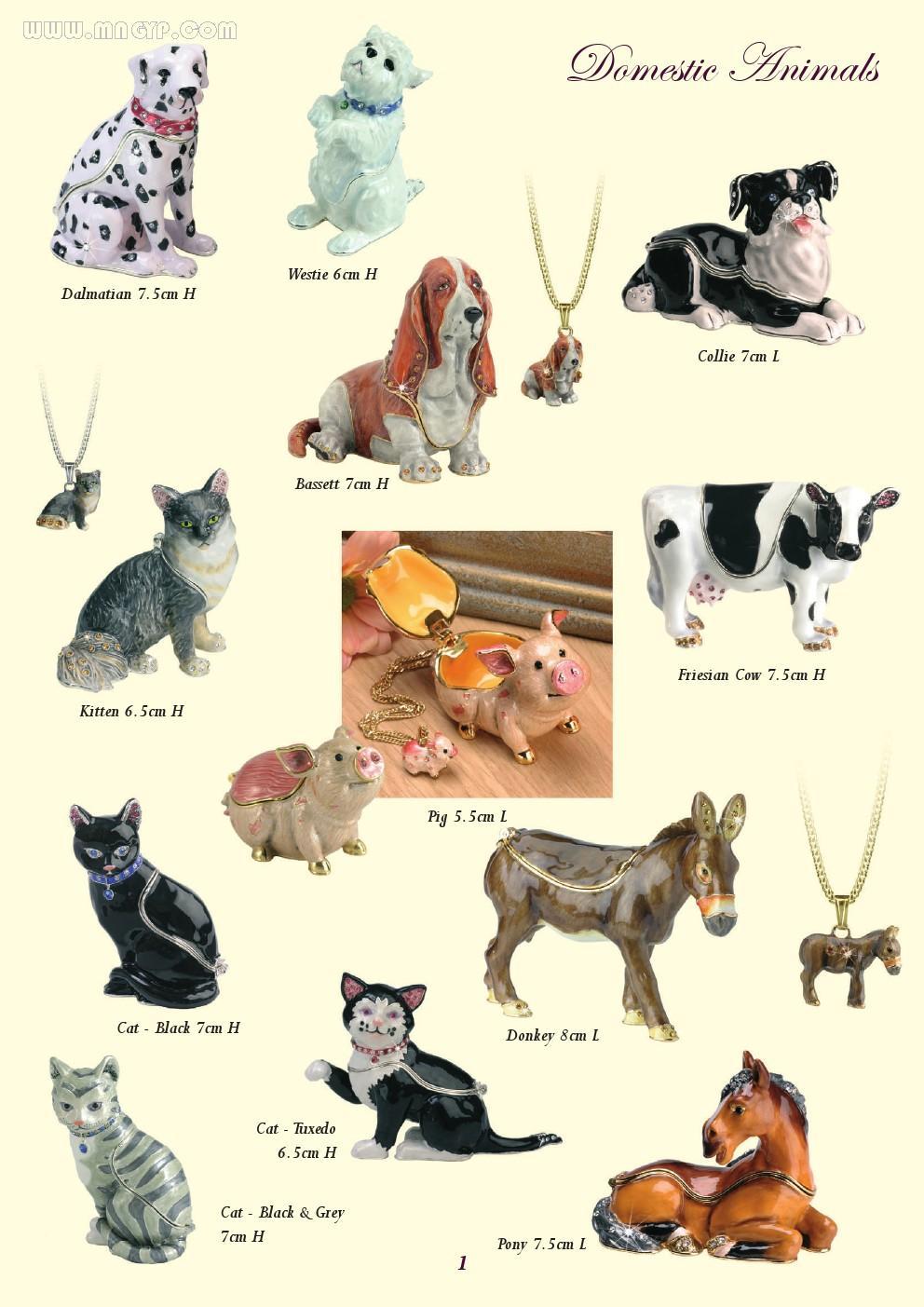 动物工艺品